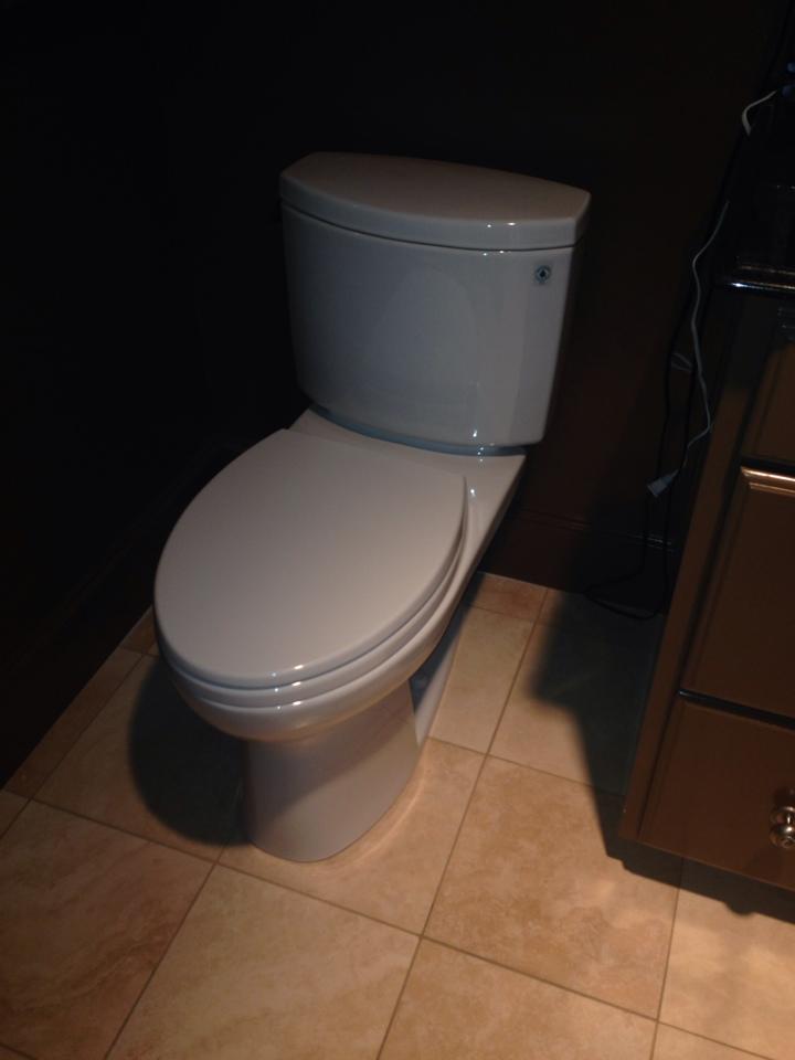 Irving, TX - Minor toilet tank rebuild new fill valve and flapper