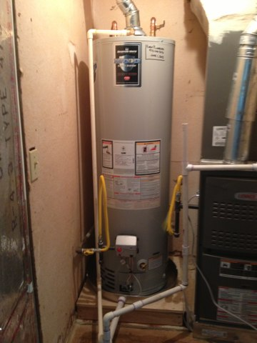 Southlake, TX - Relit a Bradford White water heater for a customer who purchased our standard 6 year parts and labor warranty package. All issues will be taken care of free of charge for 6 years.