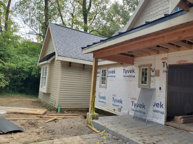 Park Hills, KY - Working on siding for this home in Park Hills, KY. This house is going to be absolutely stunning when its complete!
