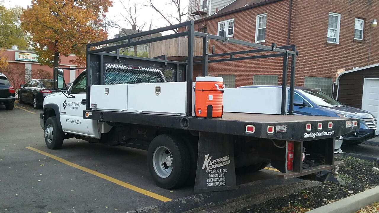 Cincinnati, OH - Sterling Exteriors has a new vehicle you will be seeing on job sites and around Cincinnati