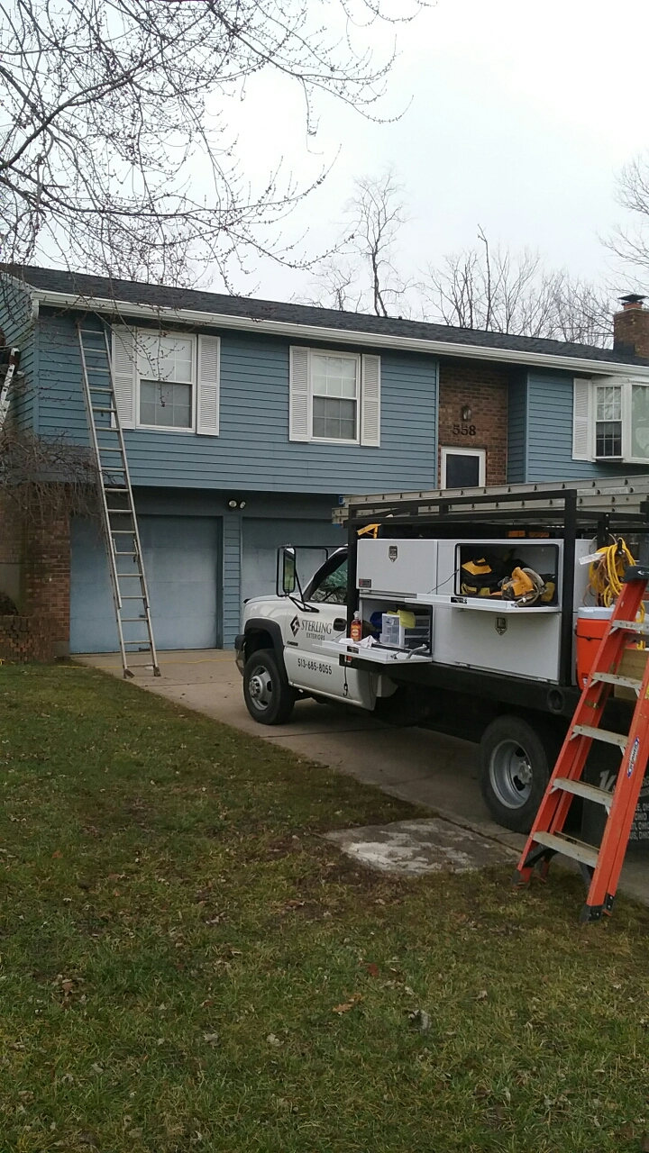 Cincinnati, OH - New roof/gutters/soffit by Sterling Exteriors!