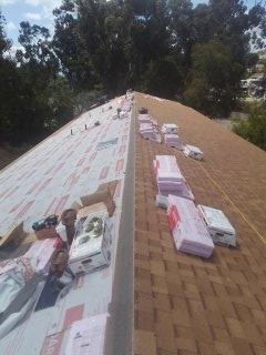 El Cajon, CA - 30 year Owens Corning shingle roof