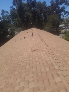 Alpine, CA - Owens Corning 30-year shingle roof