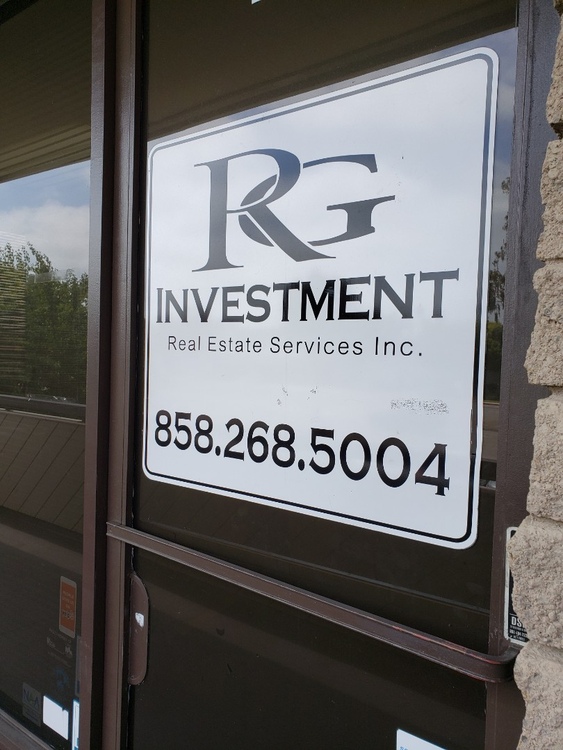 San Diego, CA - We are grateful for our clients! Happy Friday visit to RG Investment!