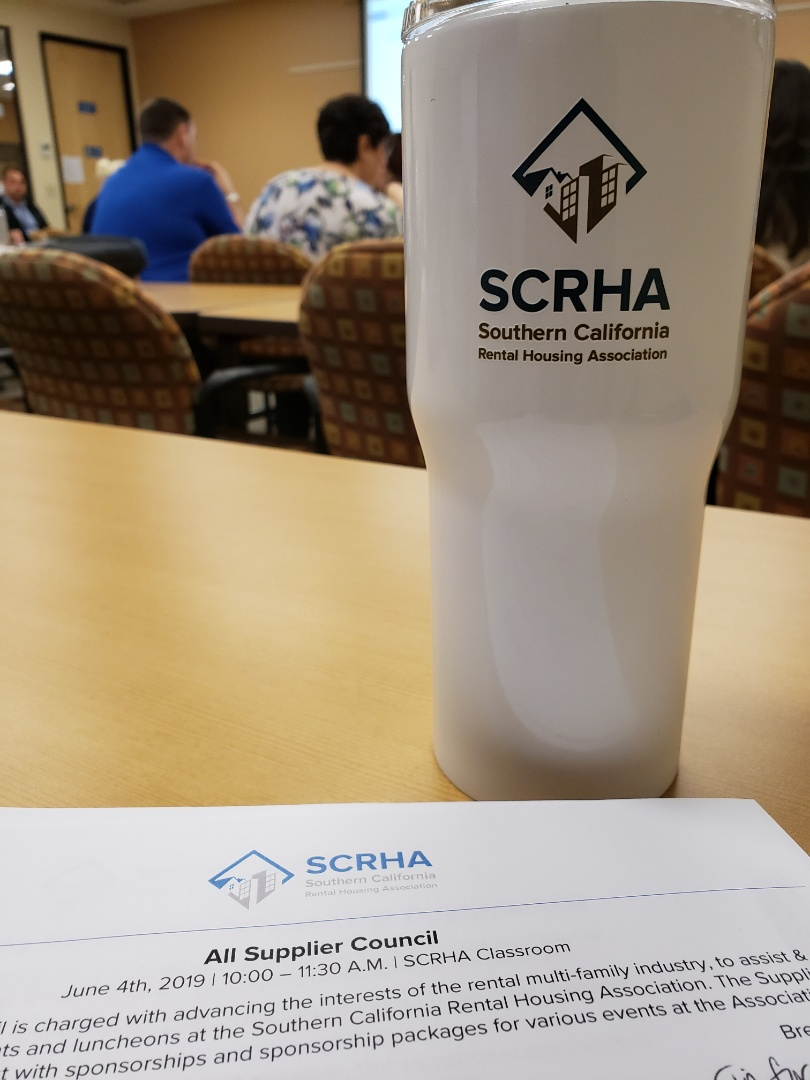 San Diego, CA - Enjoying All Supplier Council Meeting @ SCRHA!