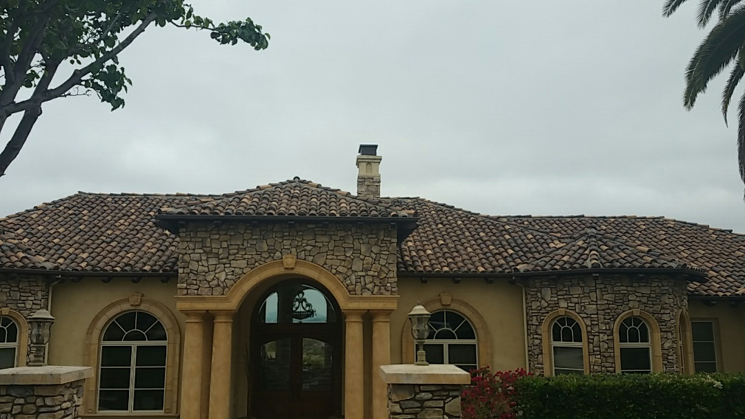 Poway, CA - Tile roof repairs.