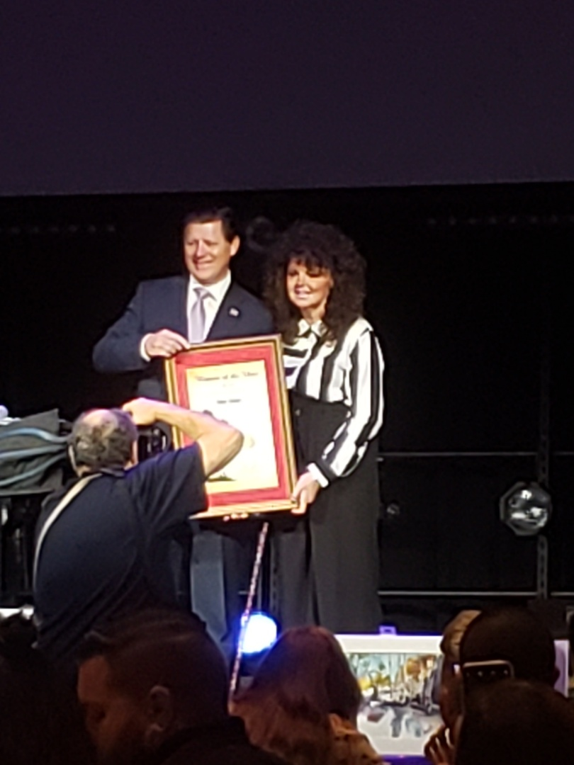 El Cajon, CA - First Friday Breakfast with the East County Chamber! 2019 Woman of the Year presented, so Awesome!