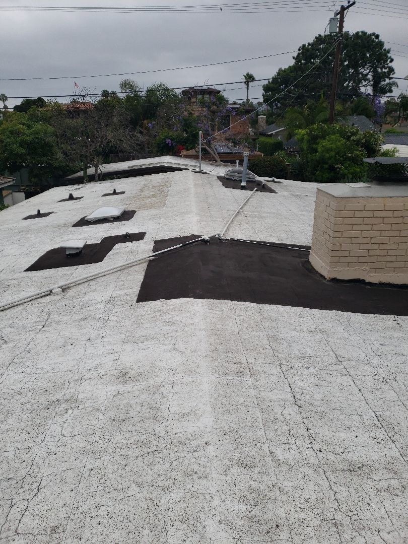 San Diego, CA - Re roof with TPO