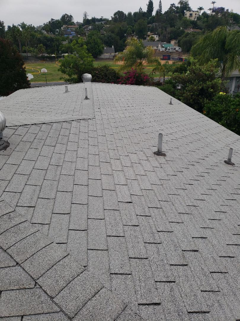 La Mesa, CA - Re roof with Owen's Corning