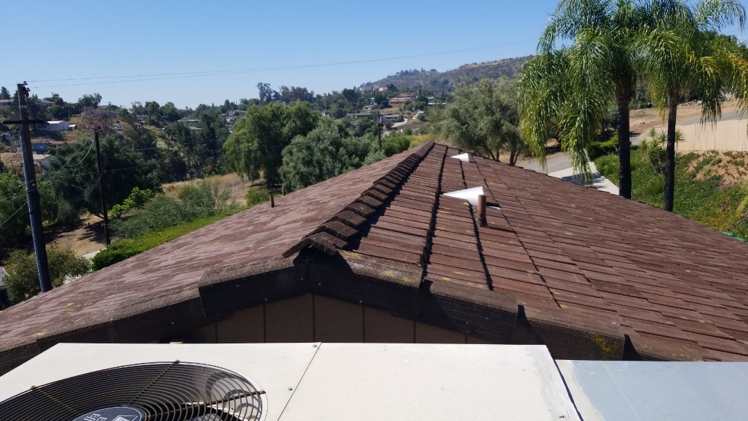 Lakeside, CA - Inspection for pro-active roof maintenance