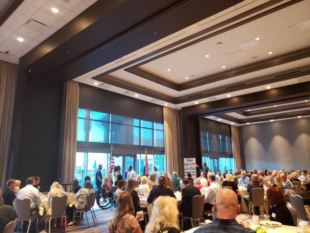 El Cajon, CA - Love attending First Friday Breakfast! East County Chamber Members & Ambassadors! Happy Friday! Love Sycuan, Beautiful venue!