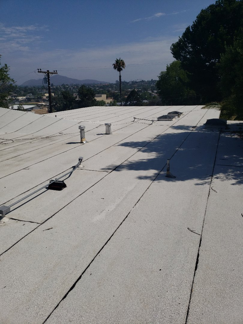 La Mesa, CA - Reroof with TPO