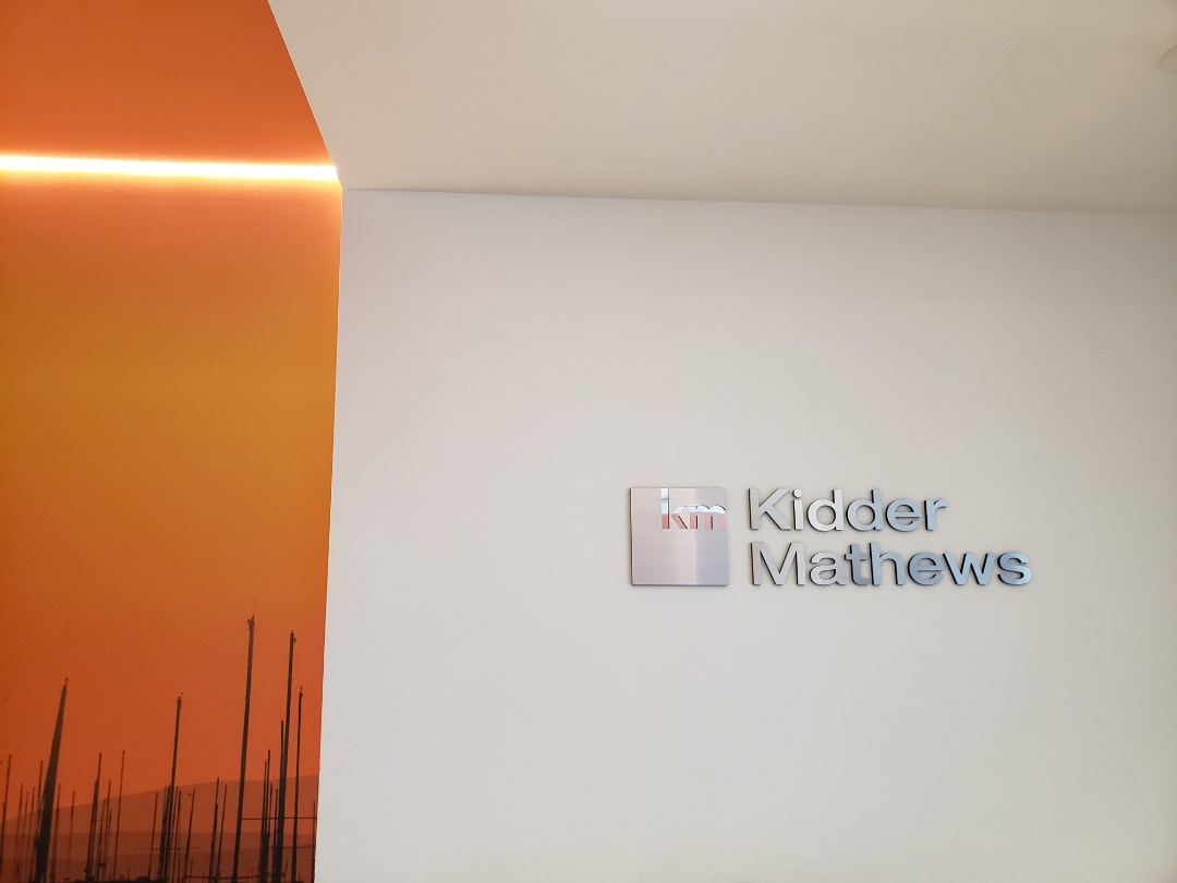 San Diego, CA - So nice to meet Amy in person today, the Kidder Matthews office is Beautiful too!