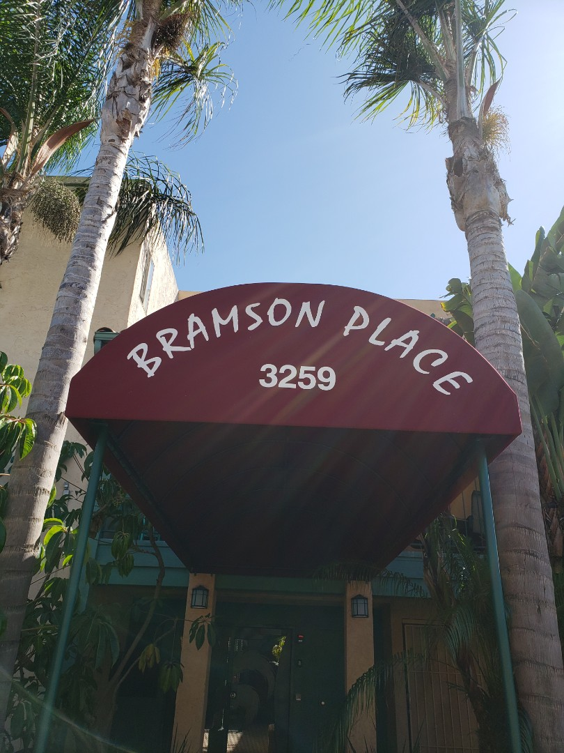 San Diego, CA - Signing roof cleaning proposals at this lovely North Park Community! Thanks Bob!