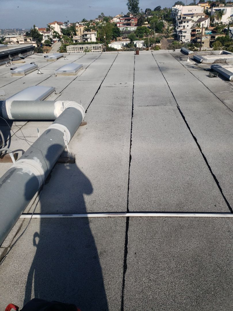 San Diego, CA - Reroof with TPO