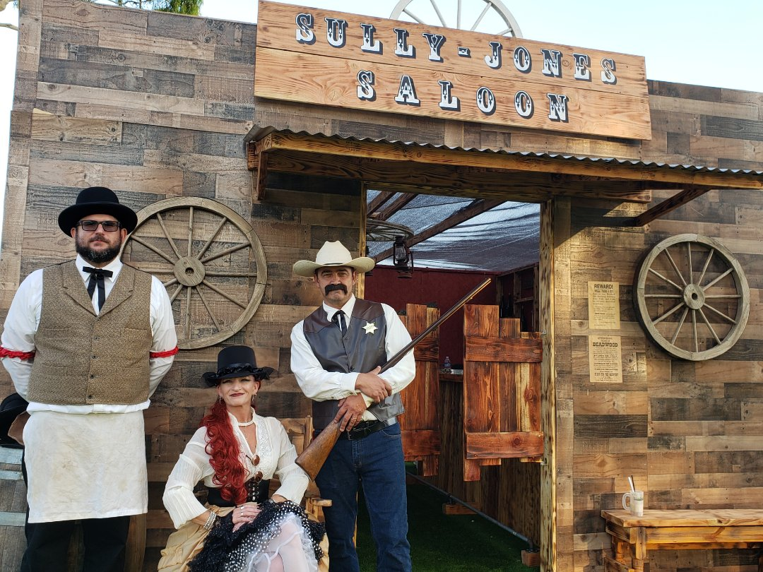 El Cajon, CA - Delivering Amazing photos from our Sully Jones Saloon visit, this years Golf Classic was a Blast! Thank you RA Snyder!