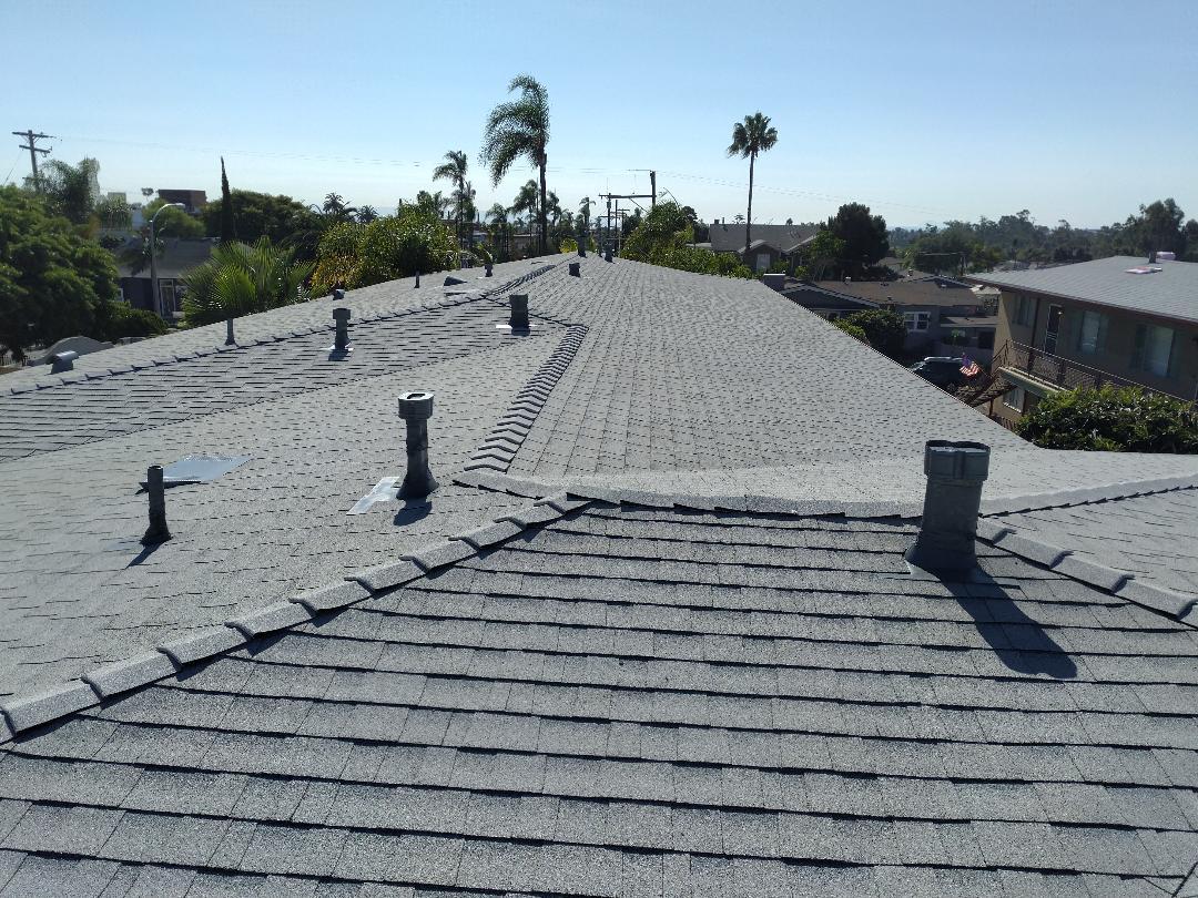 San Diego, CA - Owens Corning 30 year shingles