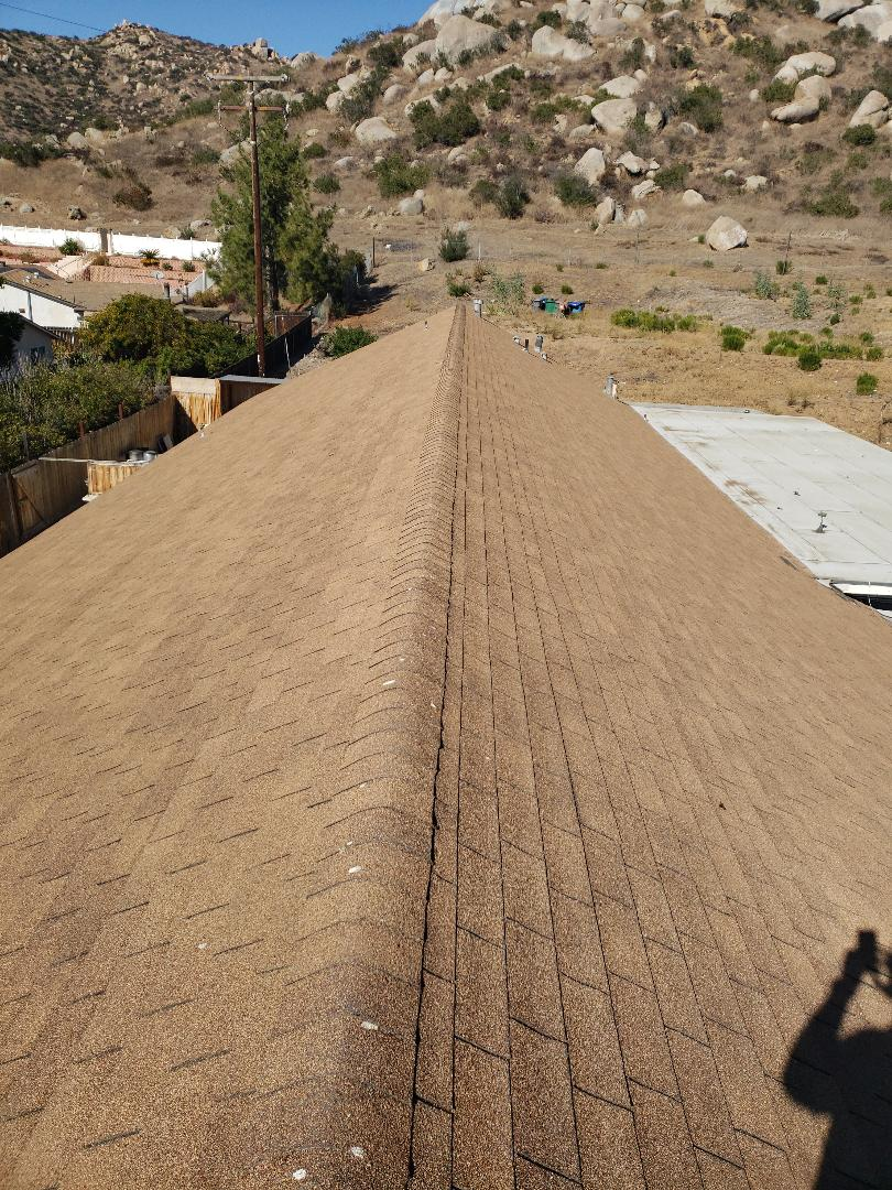 Lakeside, CA - Reroof with Owens Corning