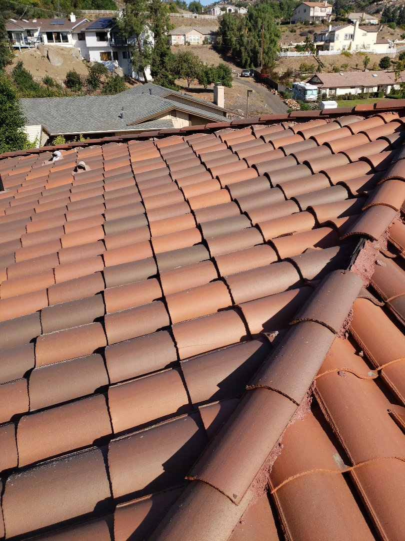 El Cajon, CA - Reroof with eagle tile