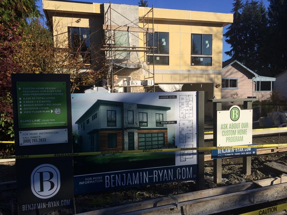Kirkland, WA - New construction modern Kirkland wa
