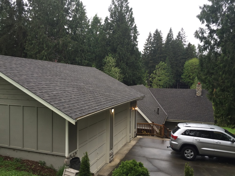 Snohomish, WA - Reroof with IKO Cambridge AR Driftwood.