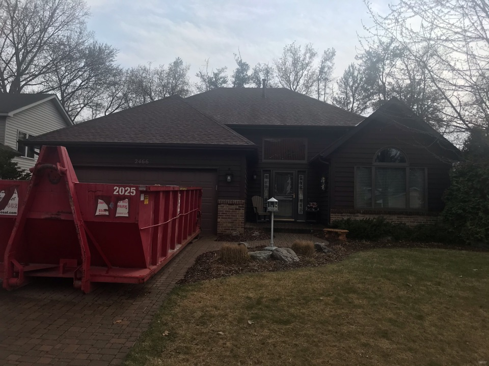 Inver Grove Heights, MN - Storm damage roof repair new GAF asphalt shingles