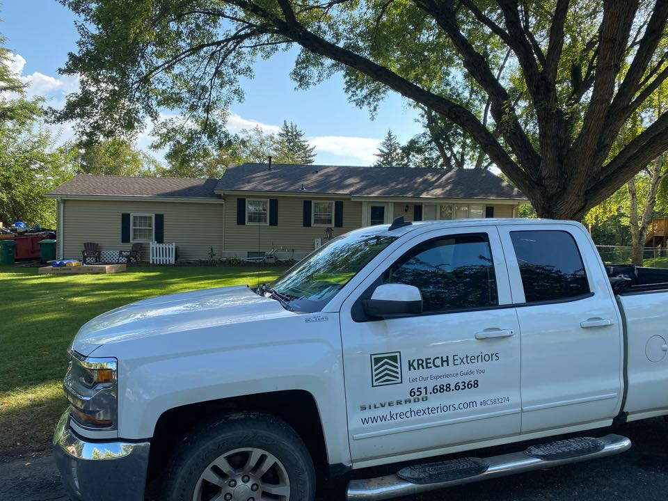 Minneapolis, MN - Installed GAF Timberline HDZ Architectural Asphalt Shingle in the color Mission Brown. All roofing material including underlayment material such as Tar Paper and Ice & Water was installed per GAF regulations/specifications. All metal flashing material such as Roof Vents, W Valleys, Pipe Stacks, were installed in the color Brown to coincide with the color of the shingle. Also added three additional roof vents for better ventilation. Great looking new roof!