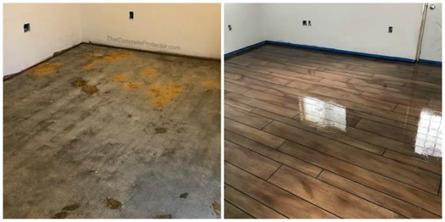 Columbia City, IN - Not just your average concrete paint, we offer beautiful hand-designed custom floors for any space in your home or business! Epoxied floors are great for all spaces!