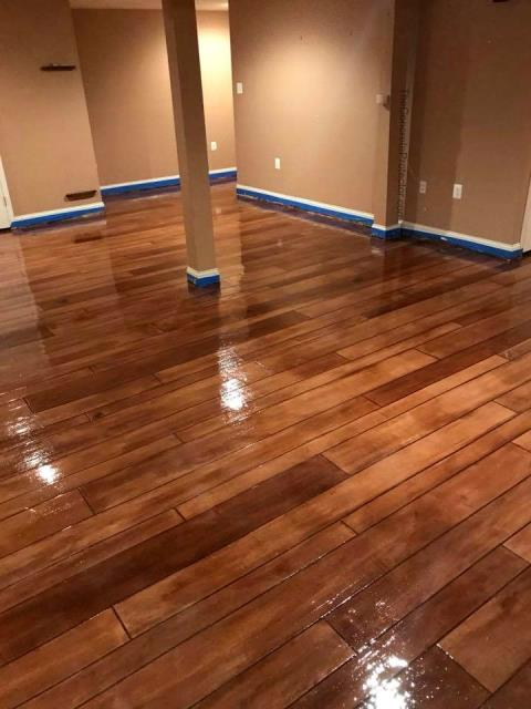 Columbia City, IN - Create a cozy beautiful space in your home that you can enjoy with your family during the cold weather!! With Rustic Wood, you wont have to worry about any water damages to the floor due to the family dragging snow and wet shoes through the house!!! Contact us to learn more on our system!!