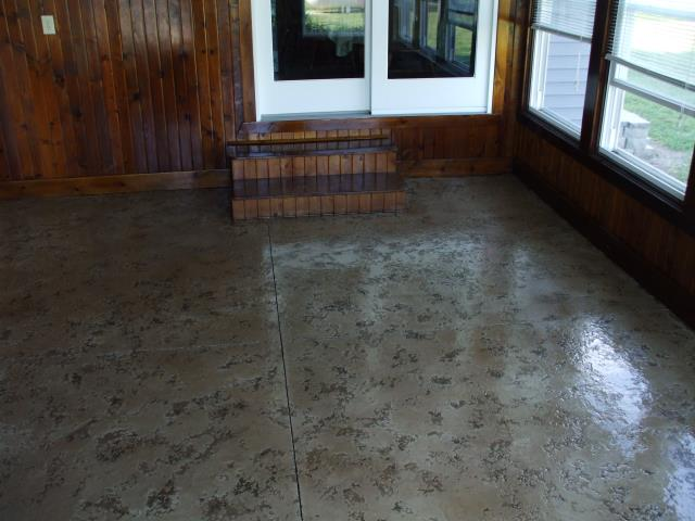 Defiance, OH - Transform your indoor patio into a space that you can enjoy watching the outdoors in any season!! Tuscan Slate gives you an amazing floor design that you will love through the rain, snow, sunshine and more!!!!