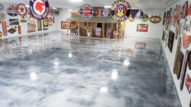All I can say is WOW! This polished floor is so beautiful! The quality is spotless! Honestly, Supremecrete does fantastic work! If anyone needs decorative concrete, I can't recommend Sepremecrete enough! Supremecrete = fair prices + great quality!