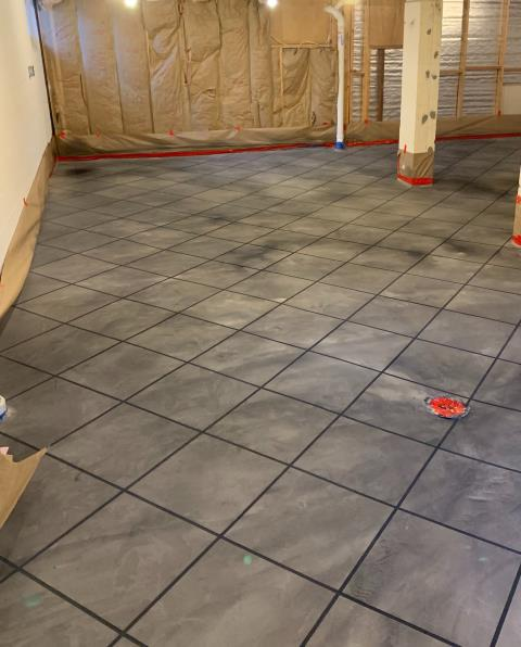 Van Wert, OH - Our basement floor turned out great, thanks to SupreCrete! We wanted to turn our basement into a liveable space that we could love for years. To do that, we needed to first fix the cracked concrete floor. This crew went above and beyond our expectations. The result of their hard work was a beautiful epoxy floor with a tile design! I know with a floor like this, our new basement space is going to turn out amazing! If you are planning on remodeling any floor in your home, I highly recommend SupremeCrete for the job!