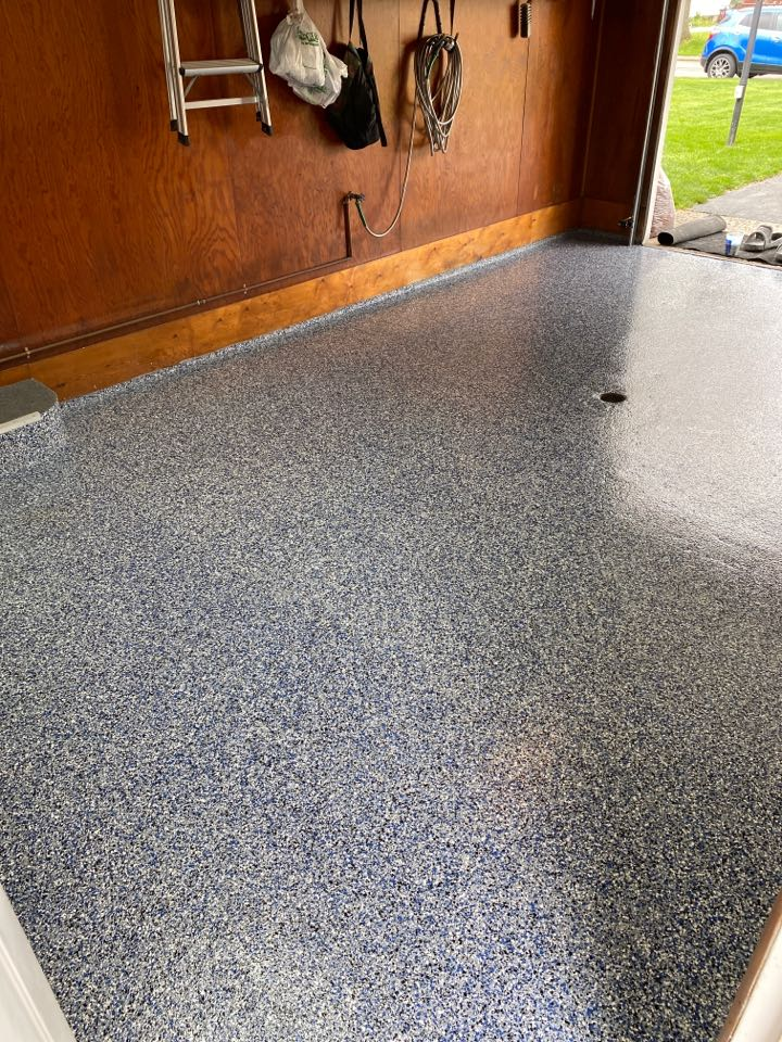 Defiance, OH - The crew just got done putting another beautiful floor down near Defiance Ohio!