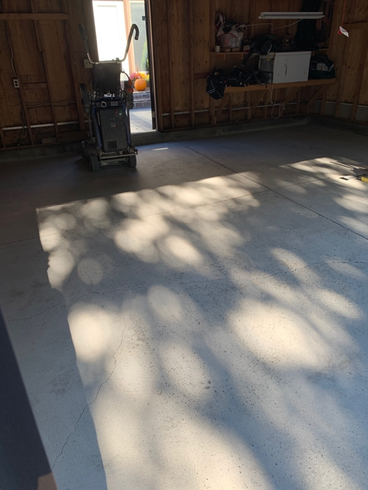 Fort Wayne, IN - Prepping this garage floor for our epoxy flake system!!!