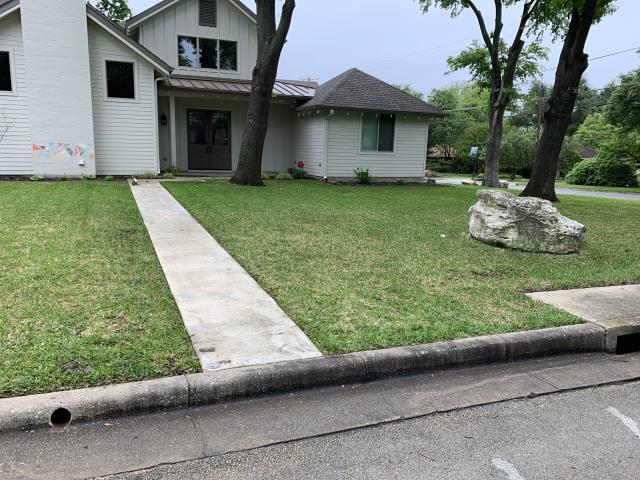 Near Potbelly, this customer is seeking additional affordable mowing and lawn care maintenance service.