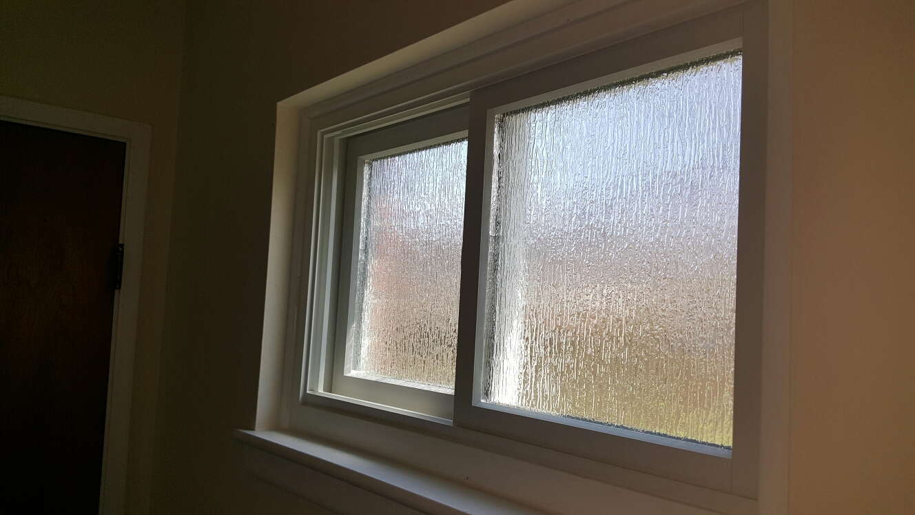 Livonia, MI - Renewal by Andersen offers different types of obscured glass where privacy is needed!