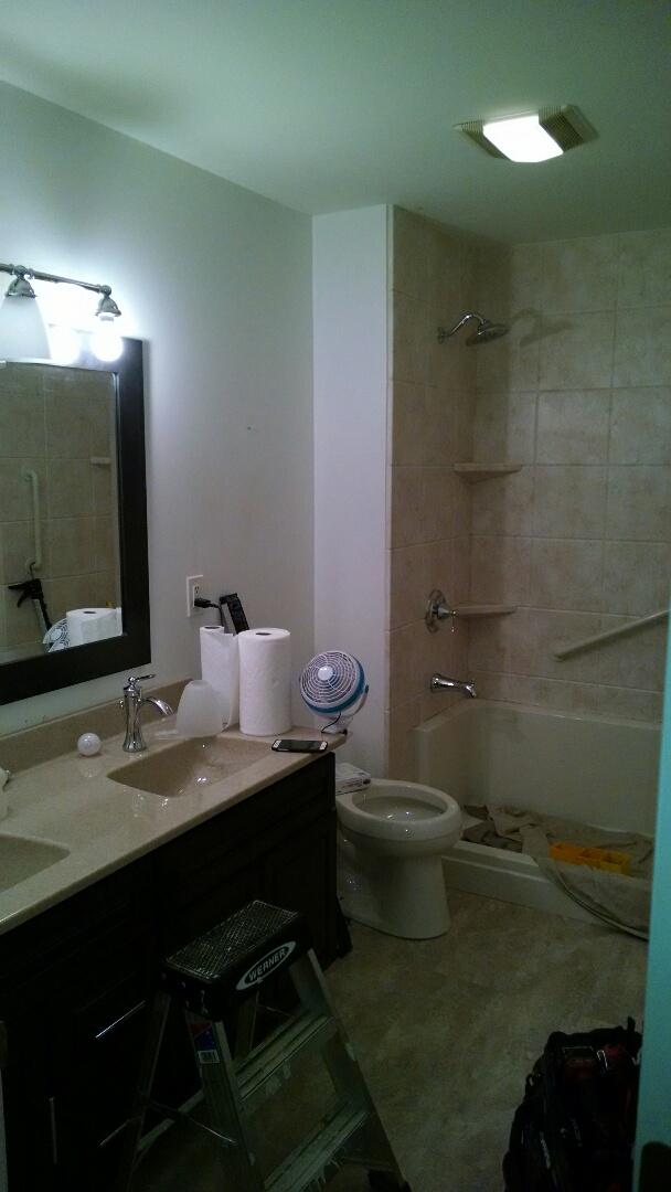 Bathroom remodeling testimonials remodeling company for Bathroom remodel lancaster pa