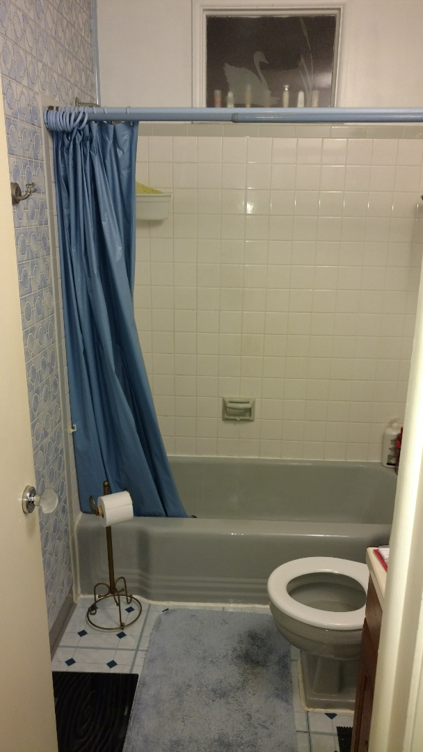 Camp Hill, PA - We are going to be replacing this cast iron tub with a beautiful new Re-Bath walk-in shower.