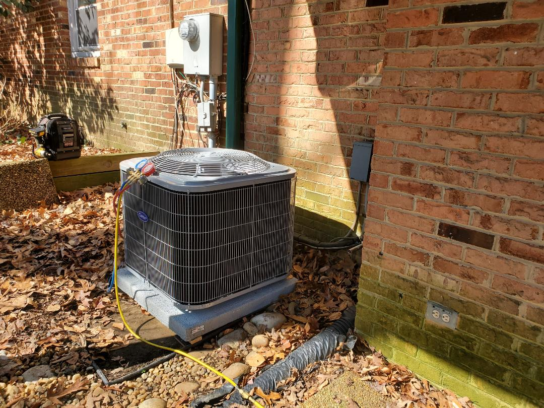 Alexandria, VA - Installed carrier 14 seer ac and adp coil