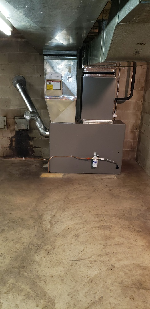 Street, MD - Installed new Lennox oil furnace and air conditioner