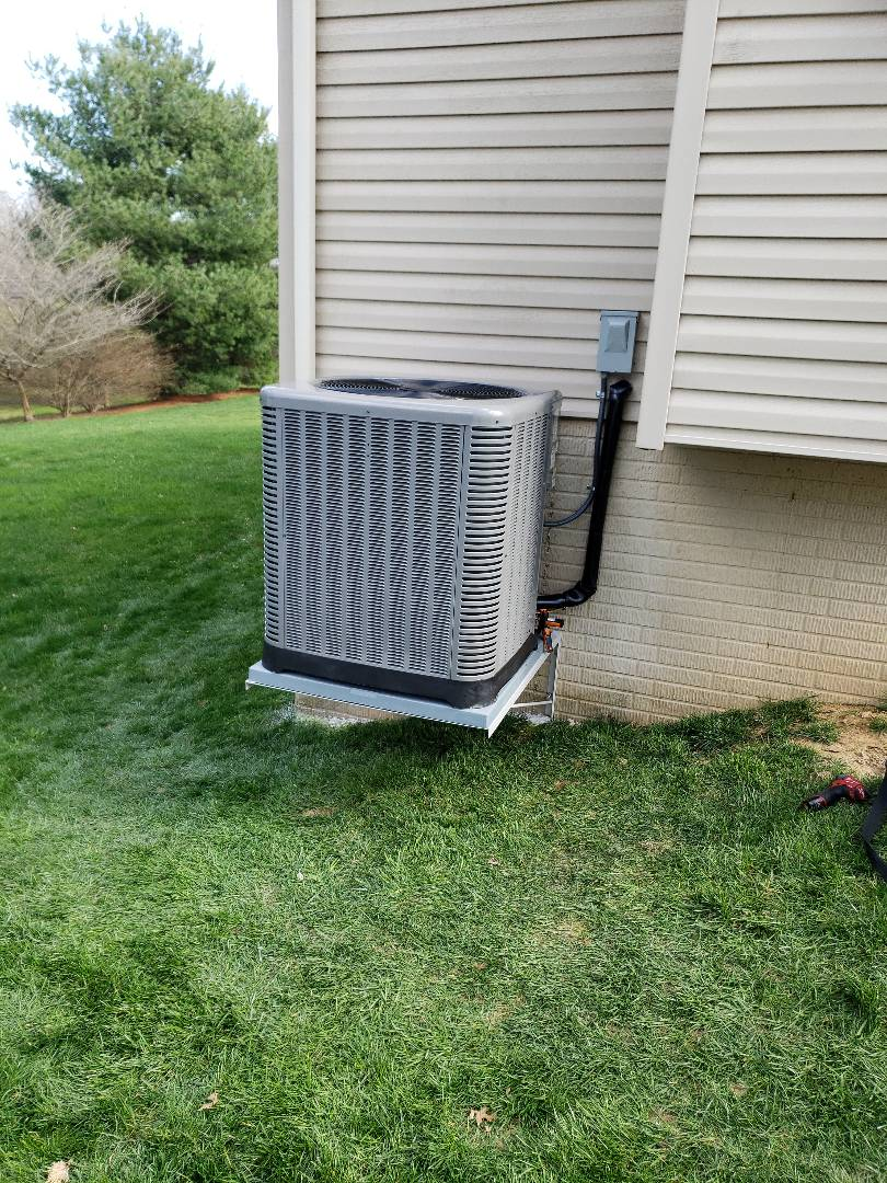 Forest Hill, MD - Installed new 2 stage gas furnace and air conditioner