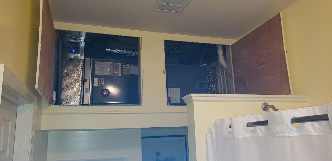 Perryville, MD - Installed new Rheem heat pump system