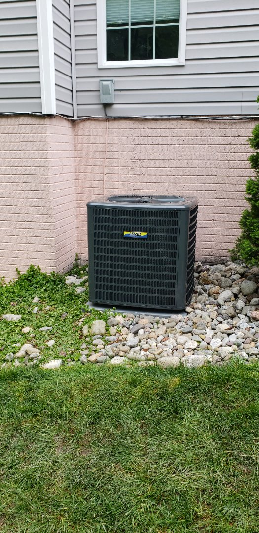 Abingdon, MD - Installed new 14 seer Goodman air conditioner and coil