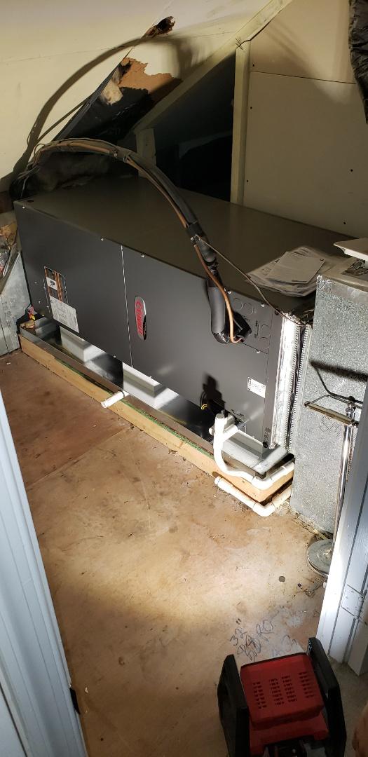 Havre de Grace, MD - Installed new Lennox heat pump system