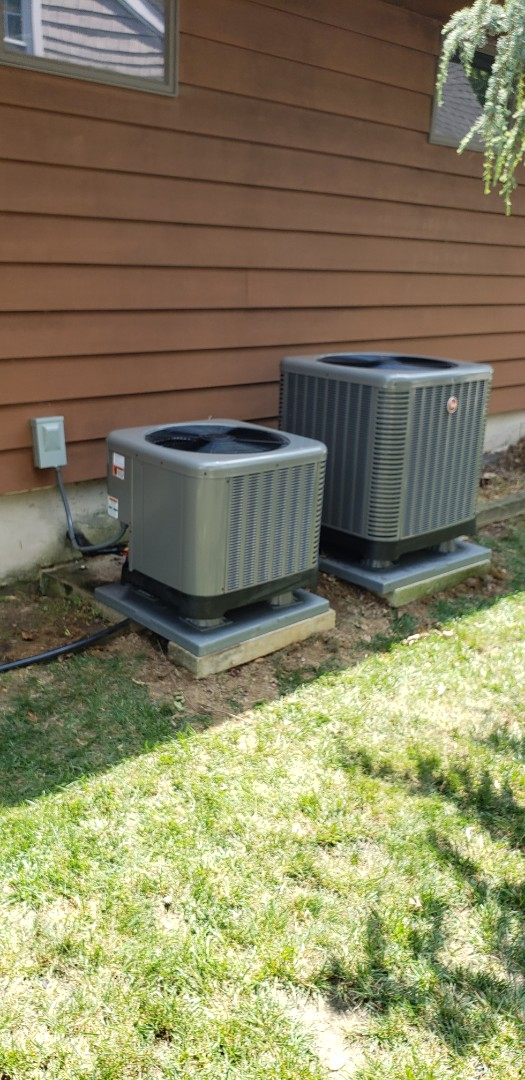 North East, MD - Installed new Rheem heat pump systems