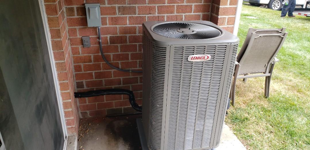 Nottingham, MD - Installed new Lennox heat pump system