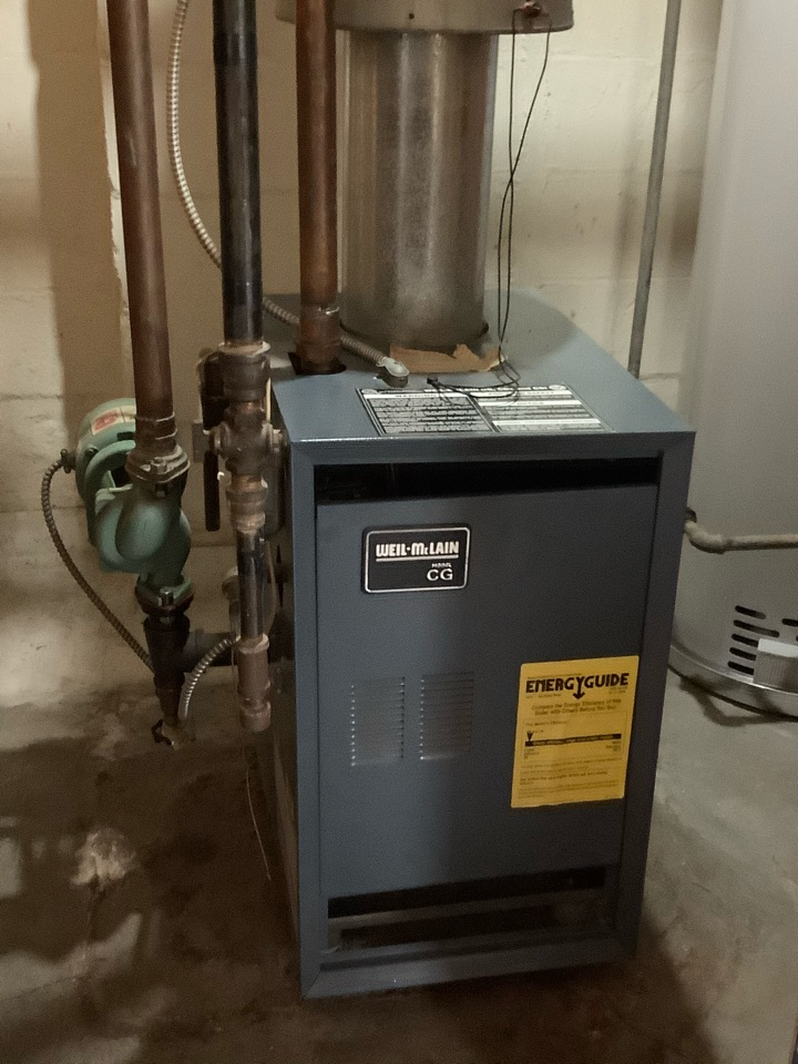 Towson, MD - Gas boiler tune up