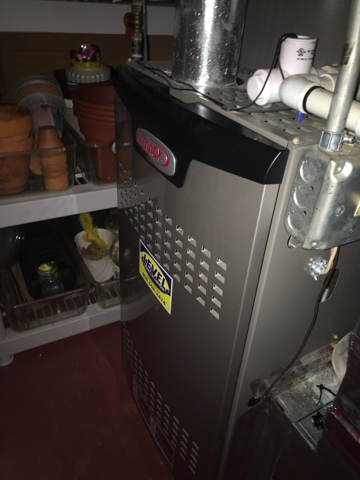 Abingdon, MD - Lennox gas furnace servicing