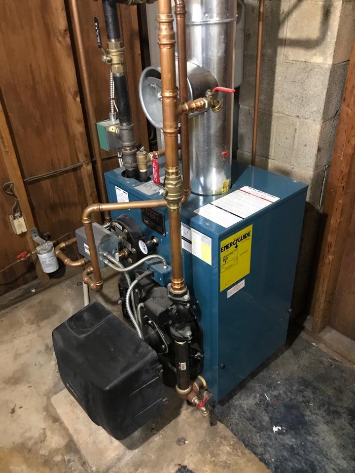 Port Deposit, MD - Oil boiler service