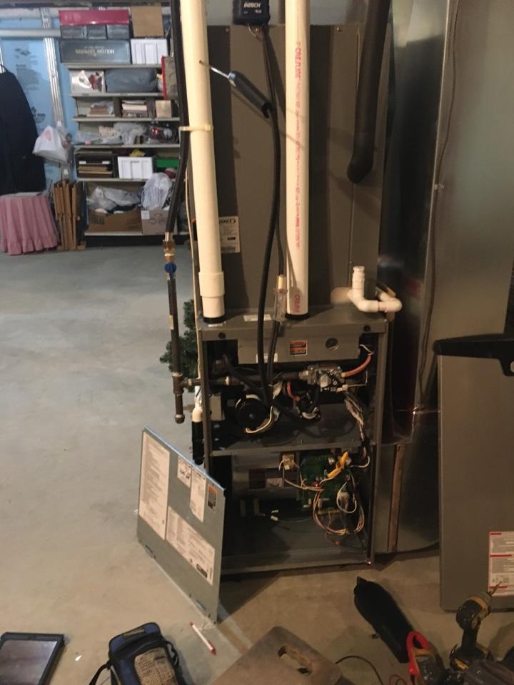 Port Deposit, MD - Diagnose no heat furnace trouble pressure switch low LP gas pressure duel fuel hybrid heat pump Level Home Services